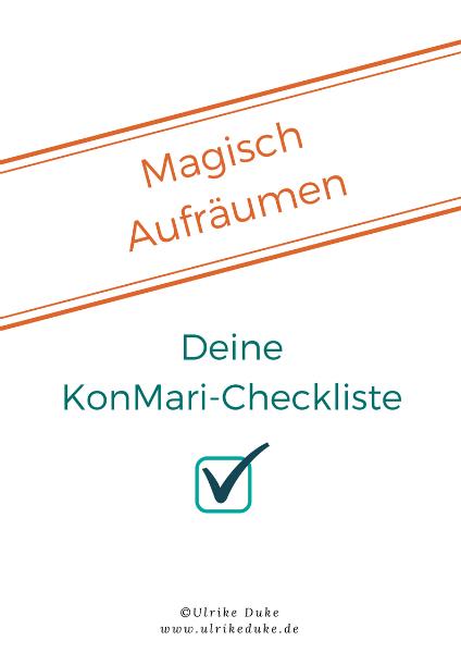 KonMari-Checkliste