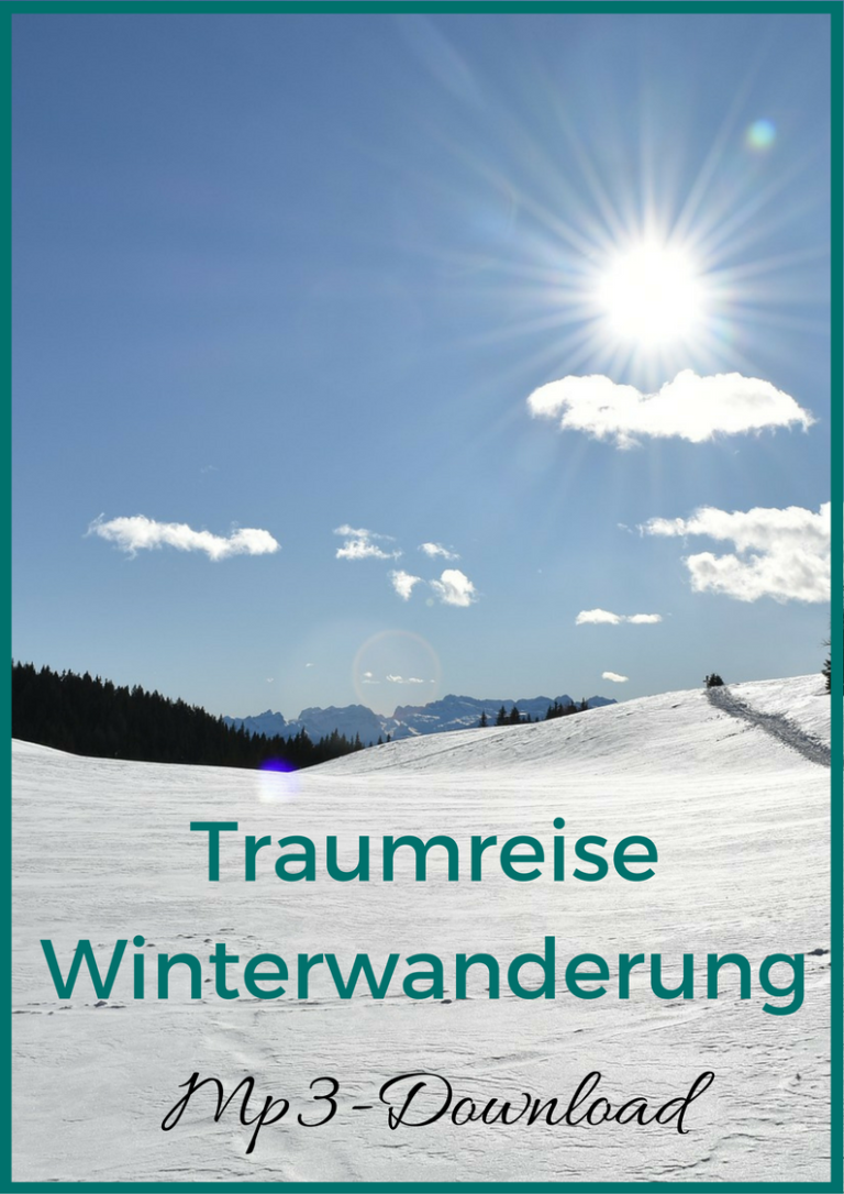 Traumreise Winterwanderung - gratis download - ressourcenbibliothek
