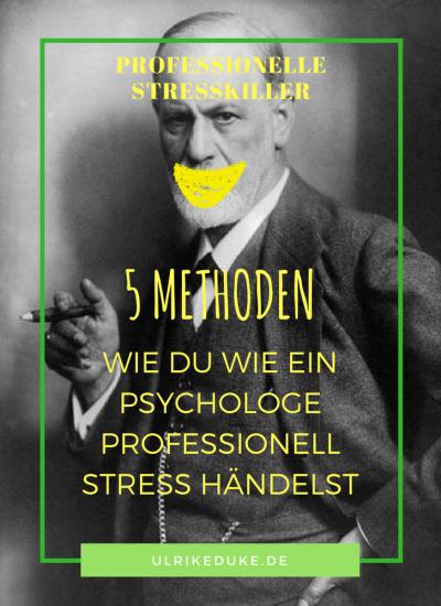 5 Methoden zum professionellen Umgang mit Stress
