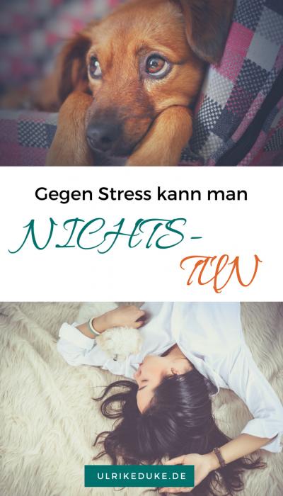 Entspannung - Gegen Stress kann man nichts tun - Pinterest